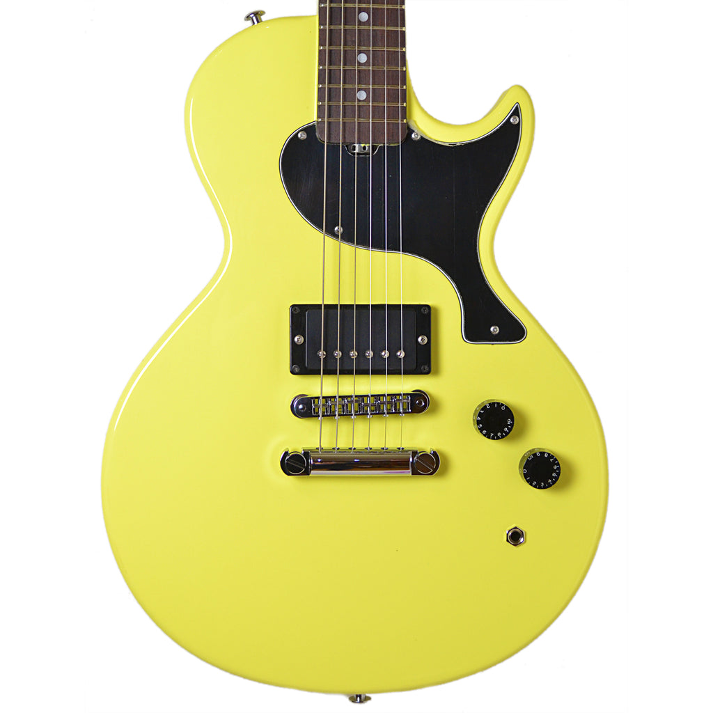 Gordon Smith GS1 Single Cut Solid Yellow Electric Guitar