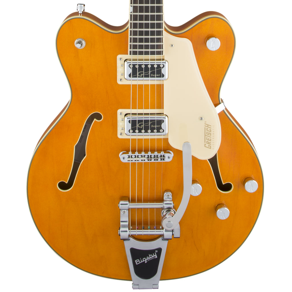 Gretsch G5622T Electromatic Center Block Double Cutaway with Bigsby Vintage Orange Electric Guitar
