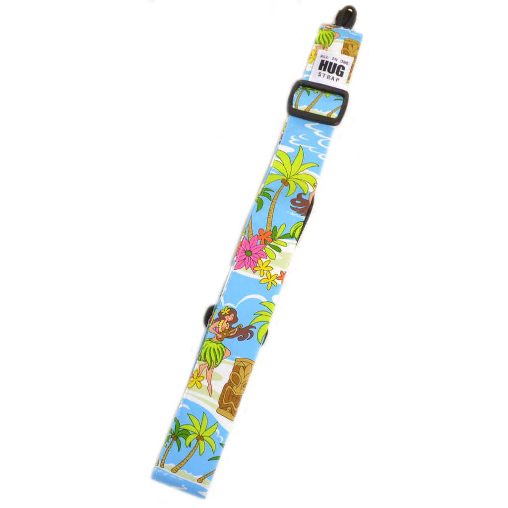 Hug Strap All in One Ukulele Strap Cartoon Hula Girls