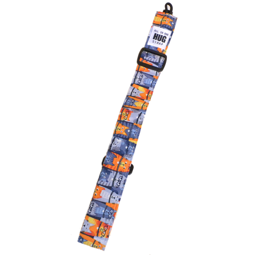 Hug Strap All in One Ukulele Strap Cats