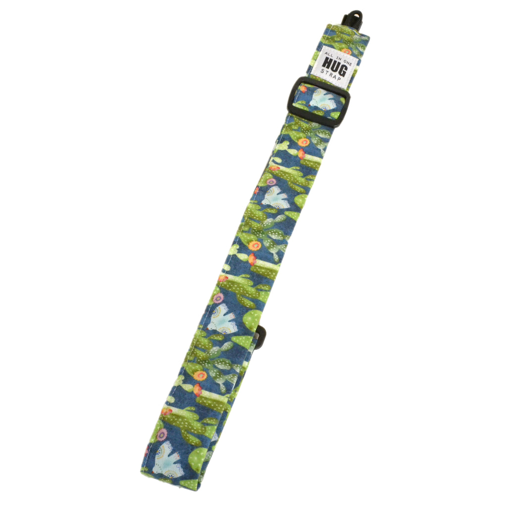 Hug Strap All in One Ukulele Strap Cactus and Birds