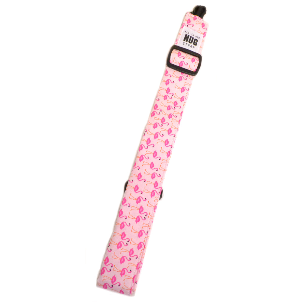 Hug Strap All in One Ukulele Strap Mini Flamingoes