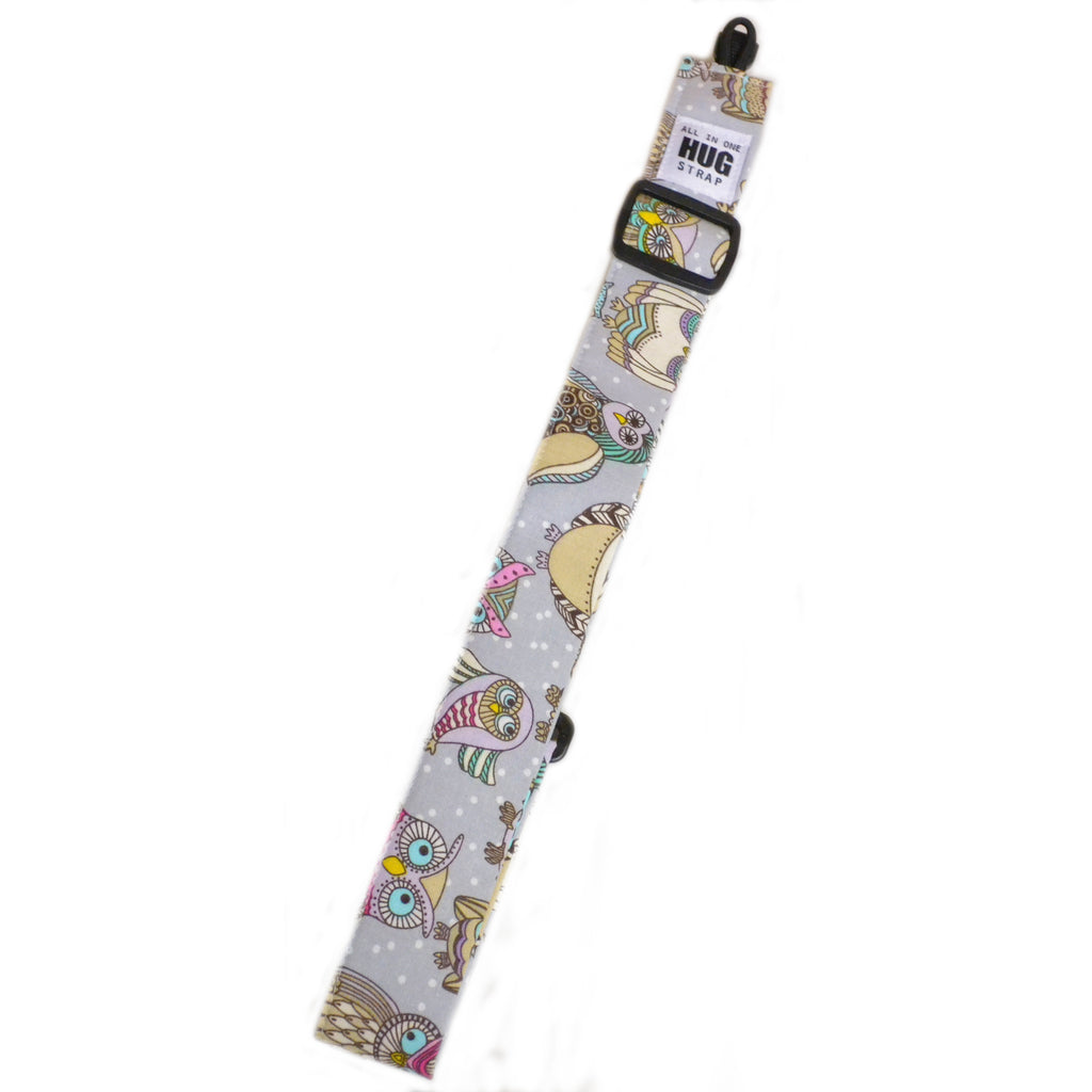 Hug Strap All in One Ukulele Strap Owls