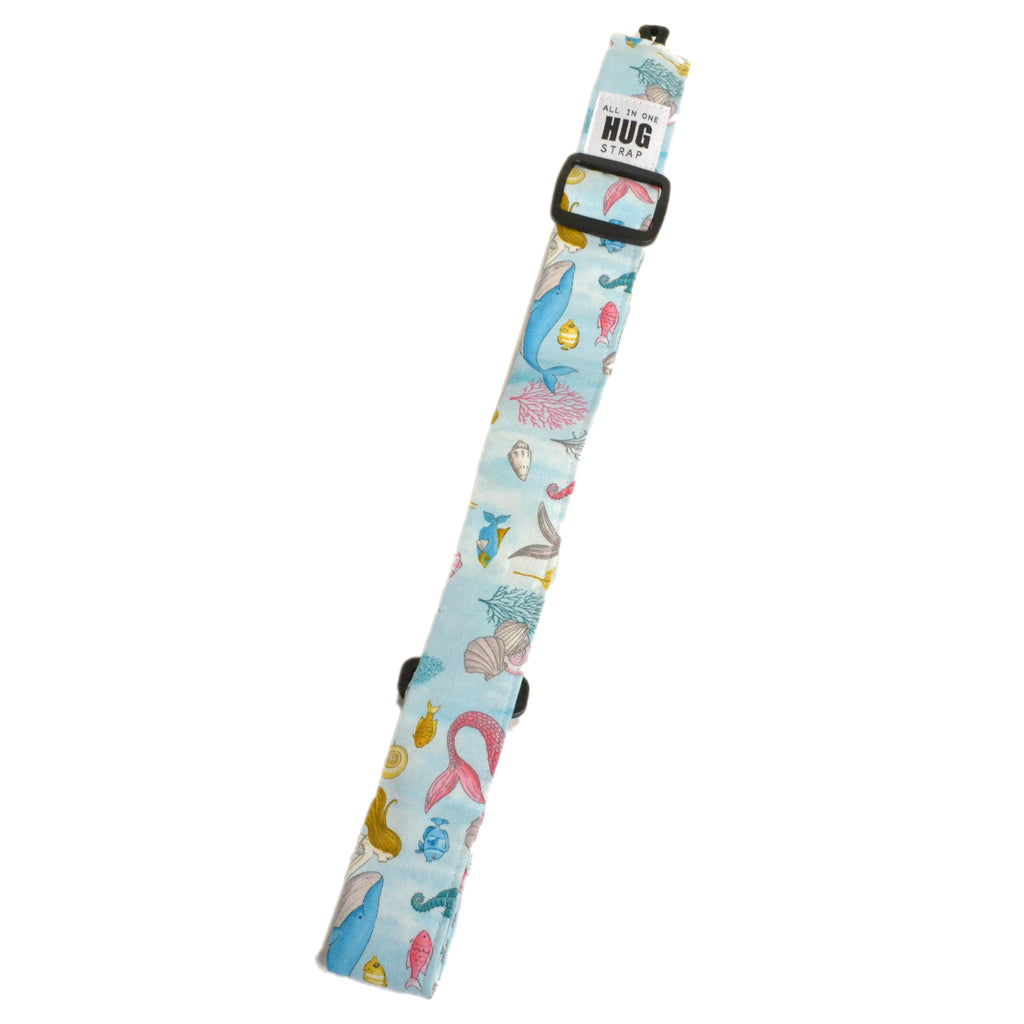 Hug Strap All in One Ukulele Strap Under The Sea