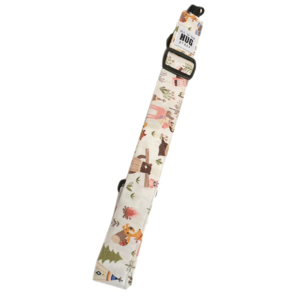 Hug Strap All in One Ukulele Strap Woodland Animals