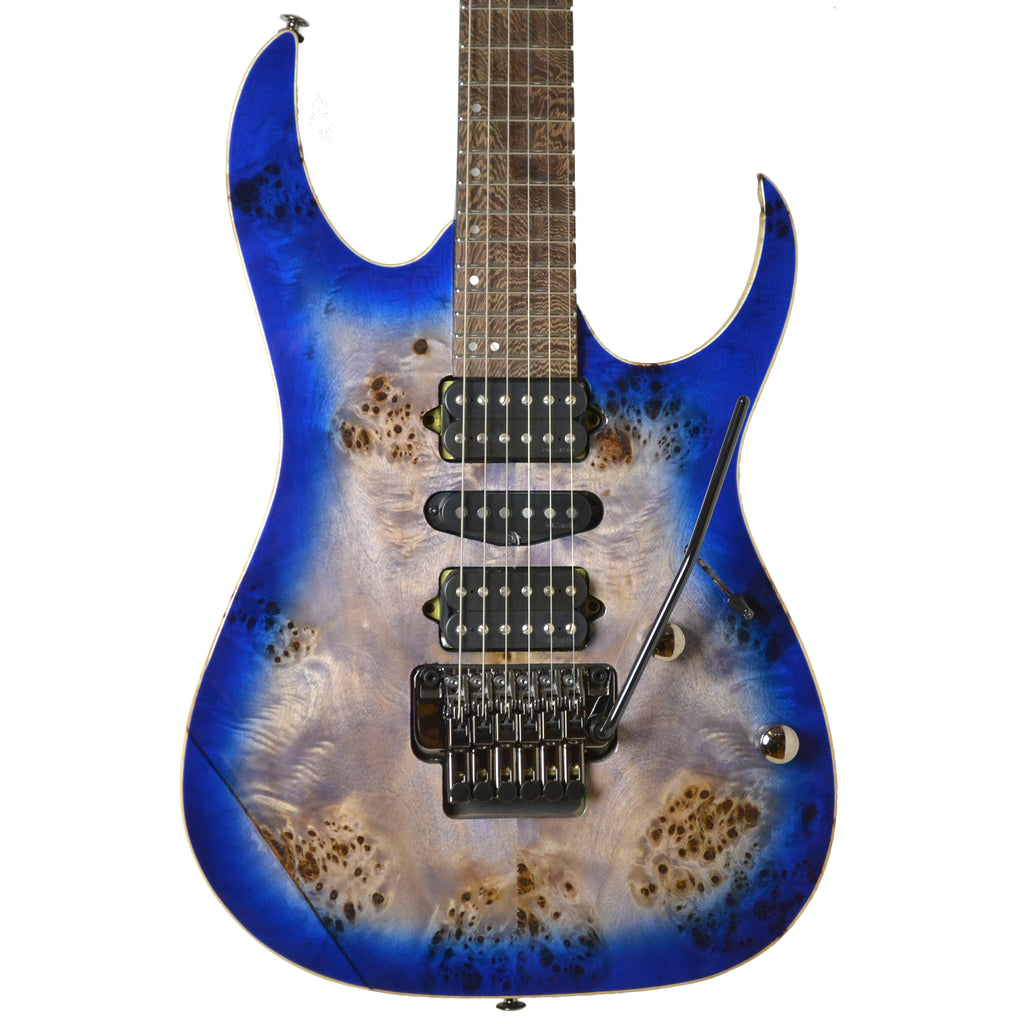 Ibanez RG1070PBZ-CBB Cerulean Blue Burst Electric Guitar