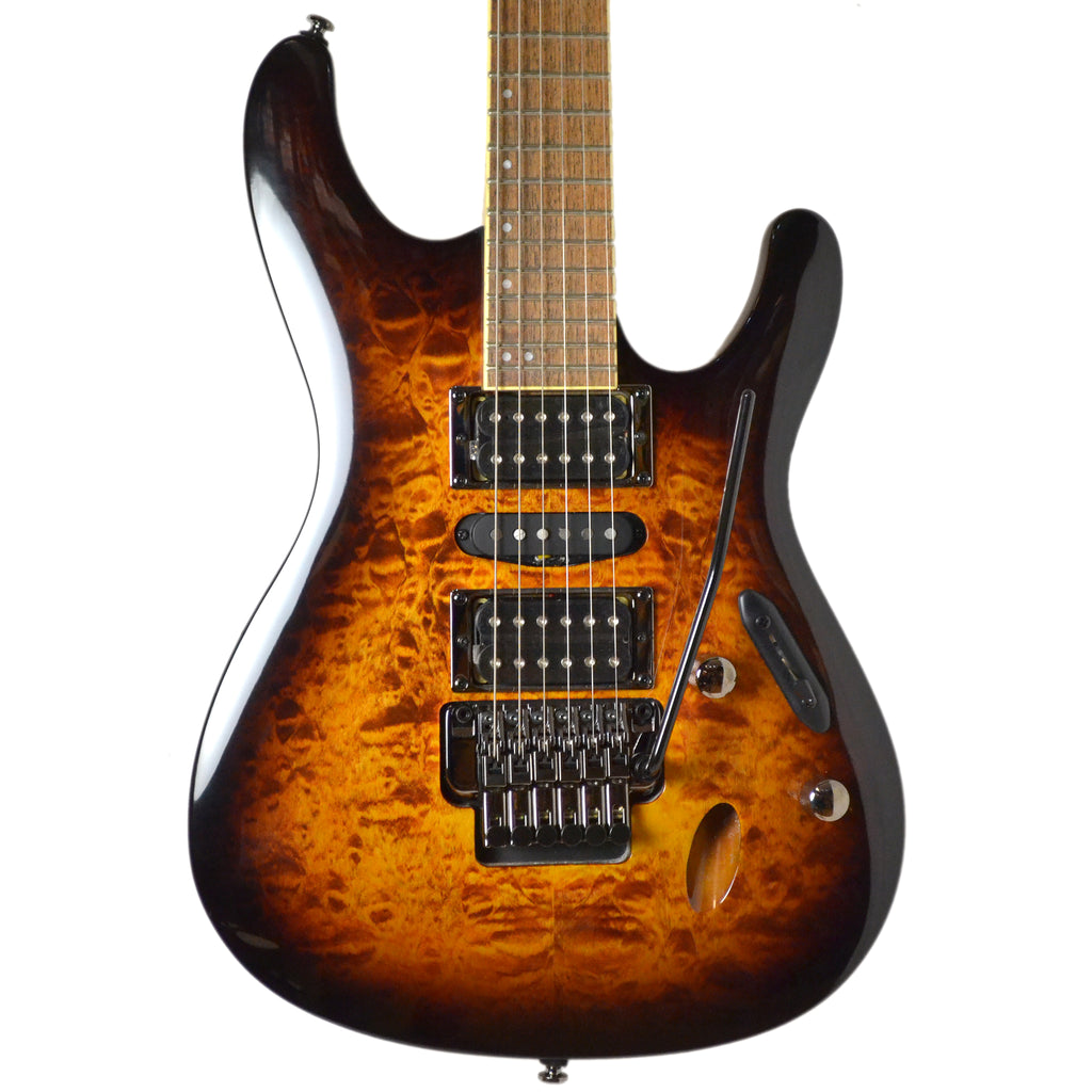 Ibanez S670QM-DEB Dragon Eye Burst 2018 NAMM Limited Edition