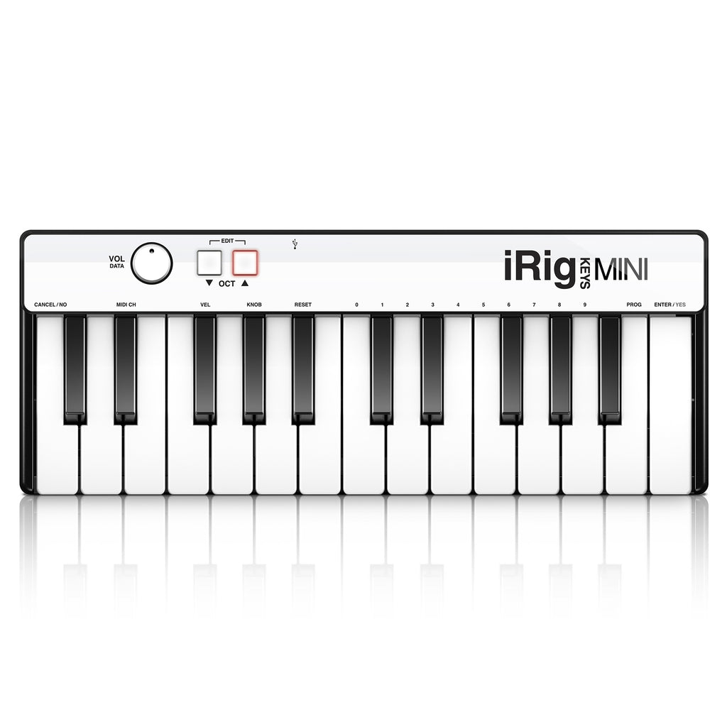iRig Keys Mini 25 Key Mini Keyboard Controller