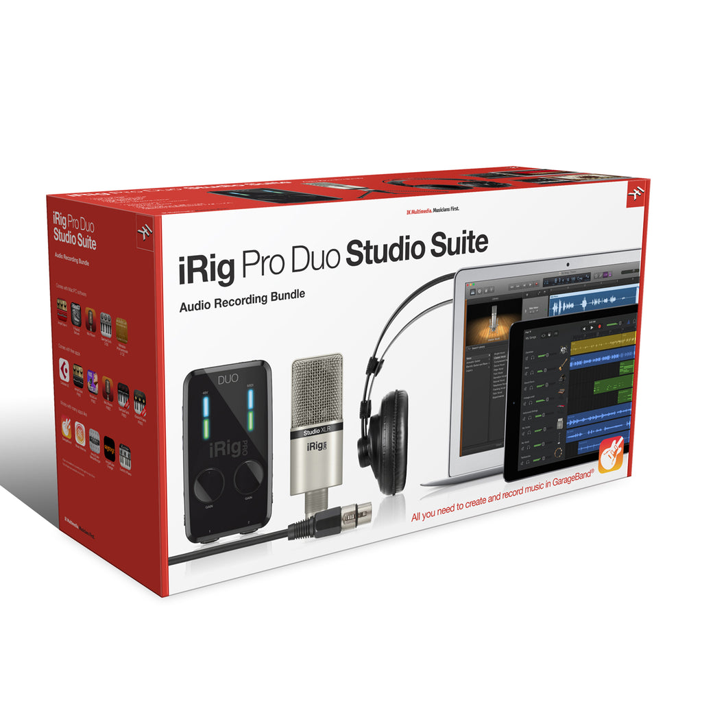 IK Multimedia Pro Duo Studio Suite