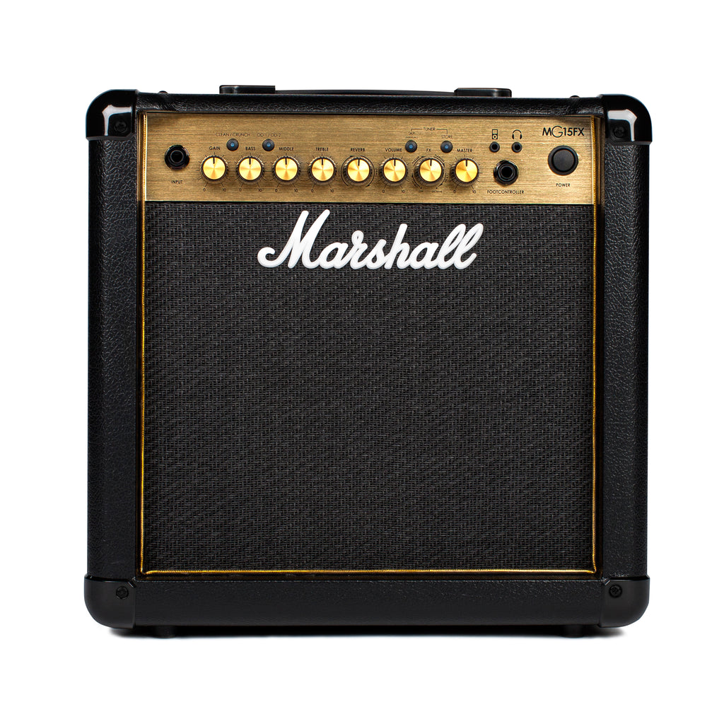 Marshall MG15GFX Gold - Combos - Marshall - Sounds Great Music