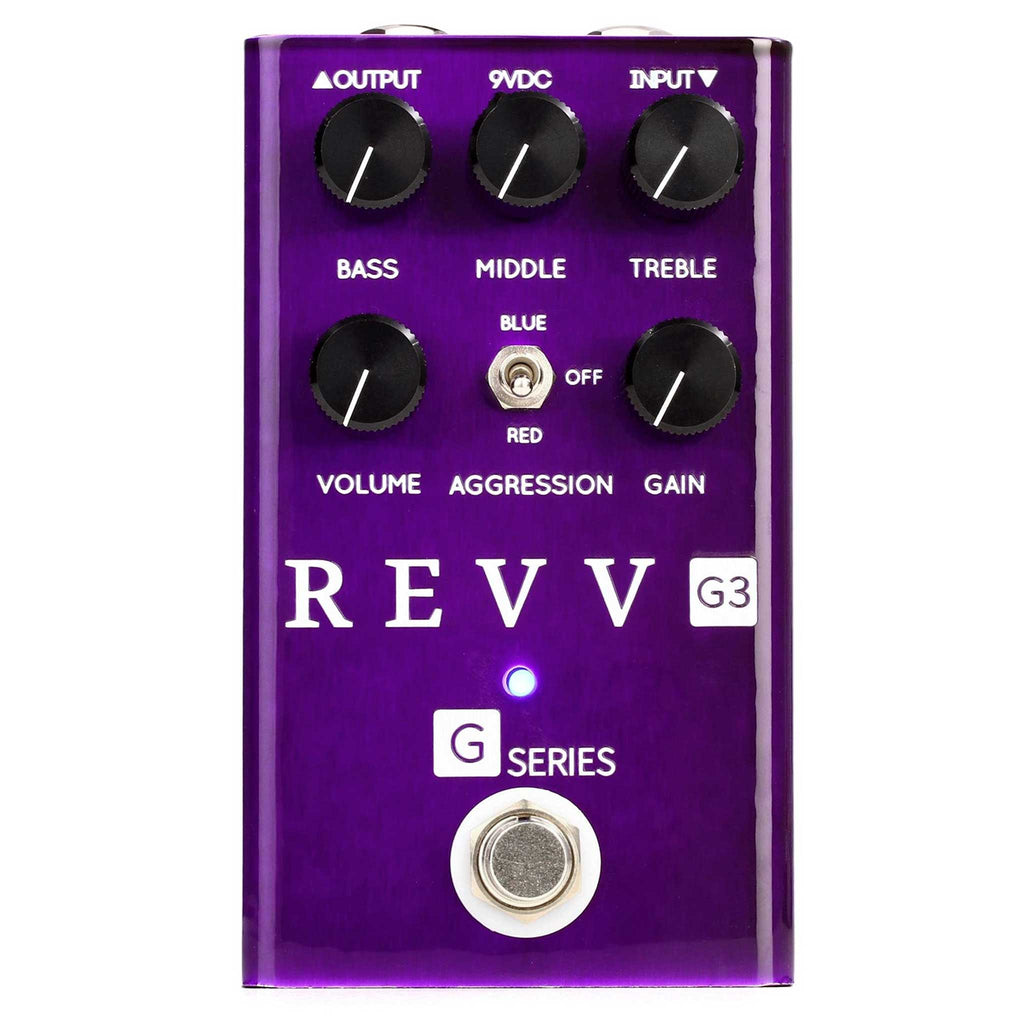 Revv G3 Distortion Overdrive Pedal