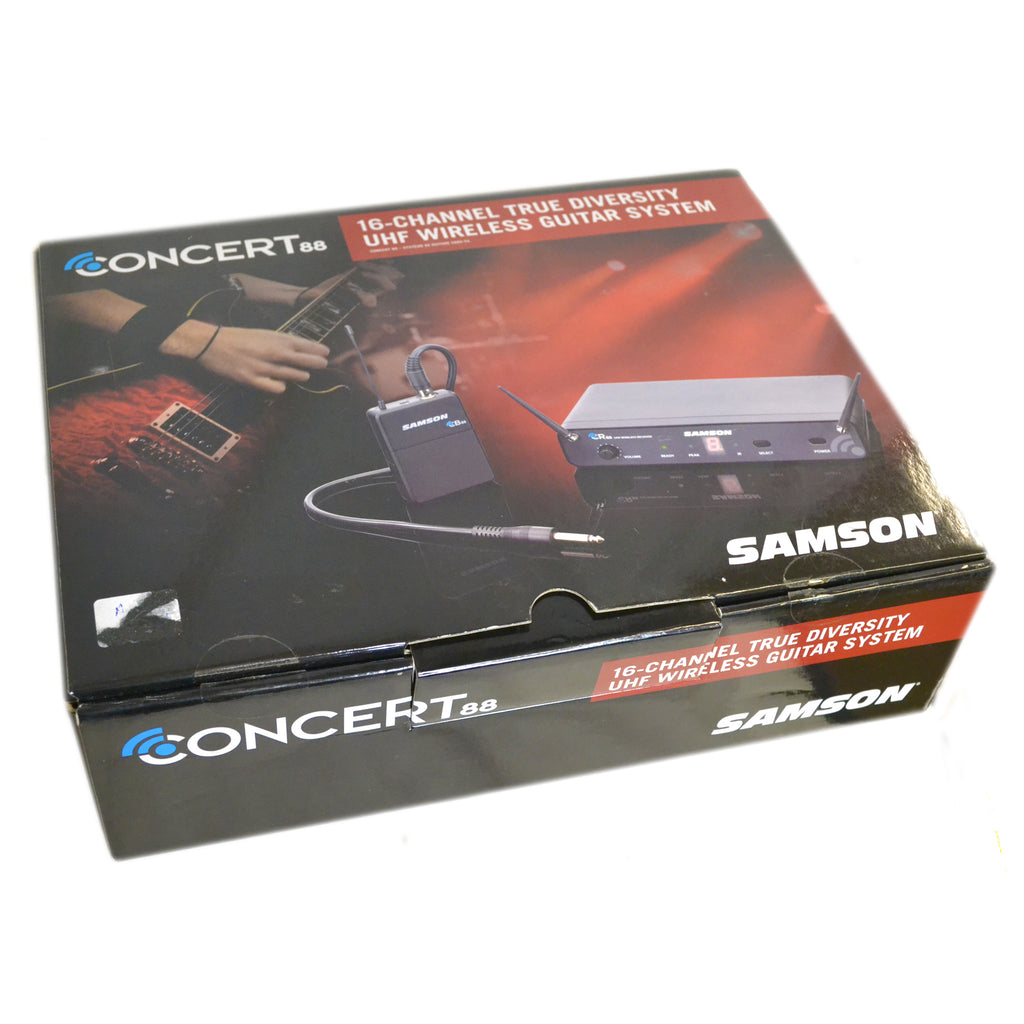 Samson Concert 88 Guitar Wireless System Second Hand