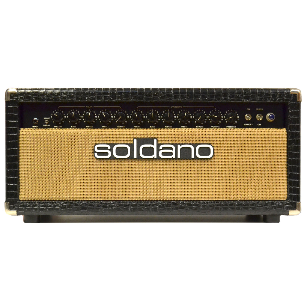 Soldano Lucky 13 100 Watt Head Gator Second Hand