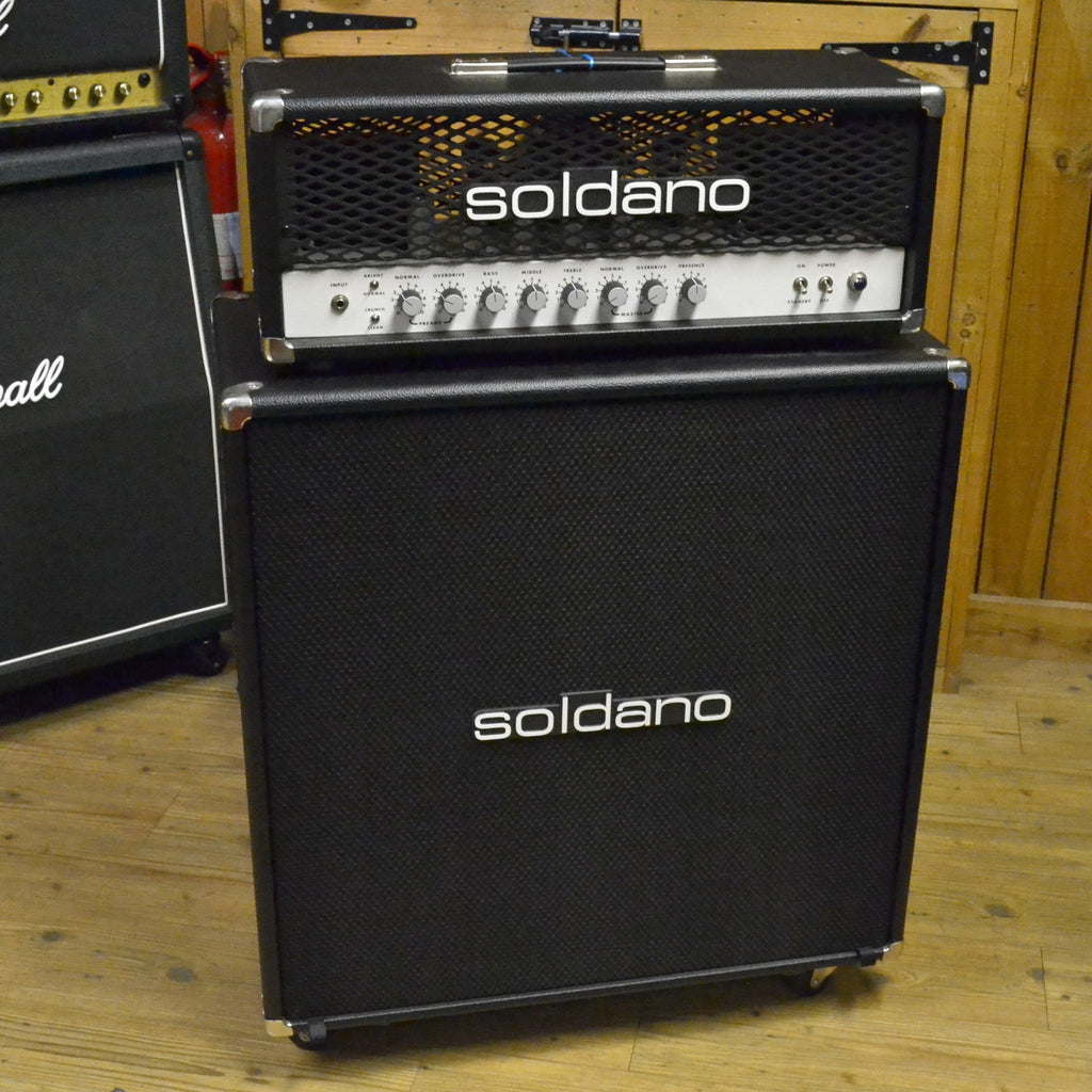 Soldano SLO100 Half Stack Mint Condition Second Hand