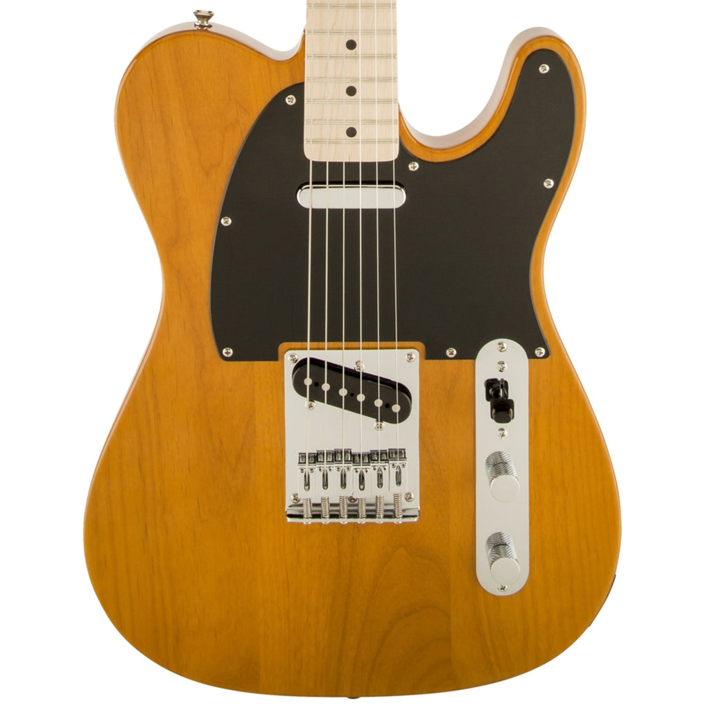 Squier Affinity Series™ Telecaster®, Maple Fingerboard, Butterscotch Blonde Electric Guitar