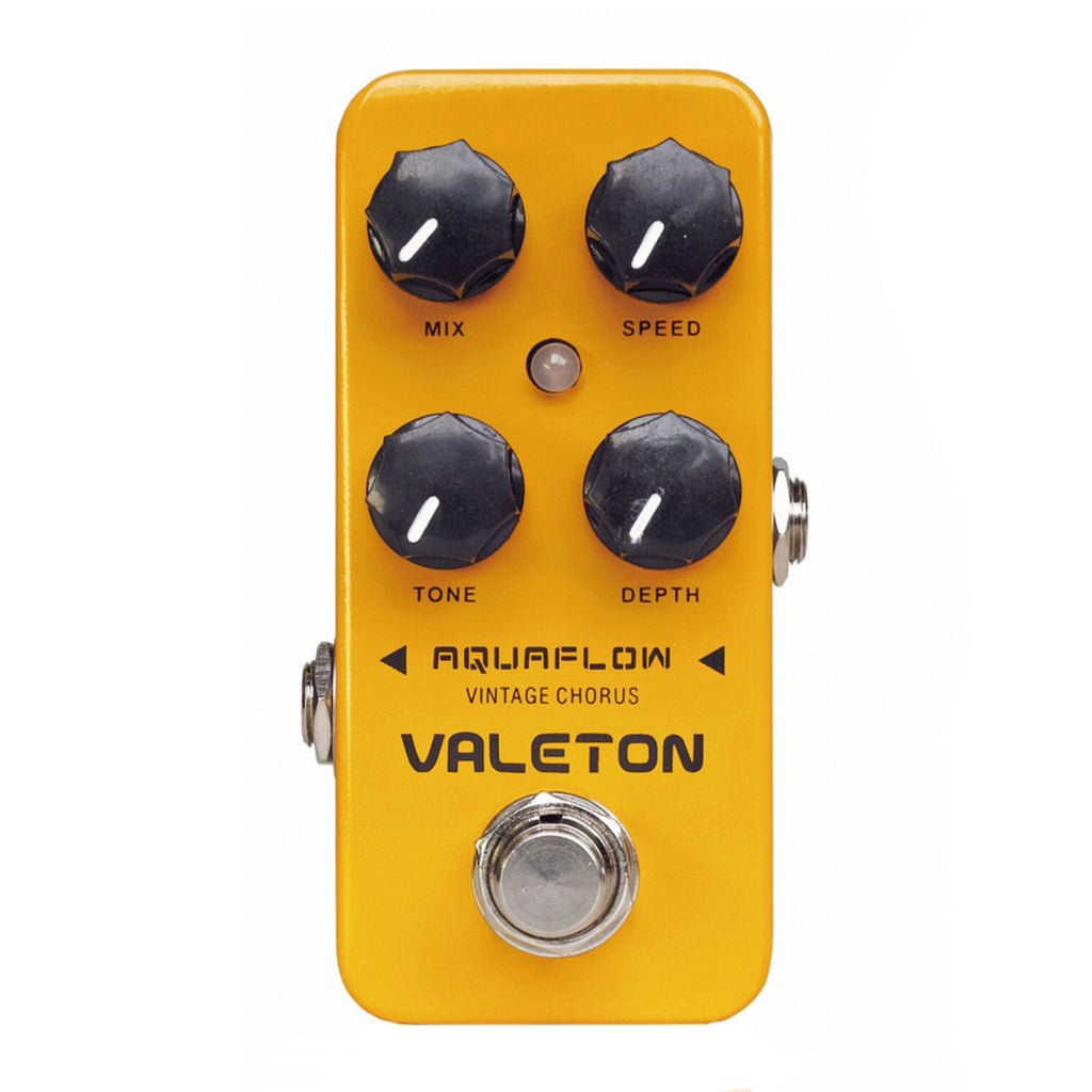 Valeton Coral Series Aquaflow Vintage Analog Chorus Effects Pedal