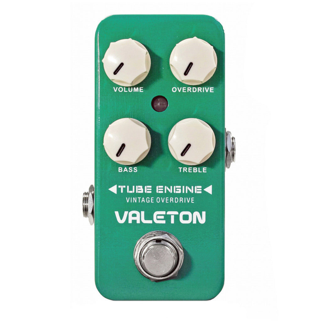 Valeton Coral Series Tube Engine Vintage Overdrive Effects Pedal