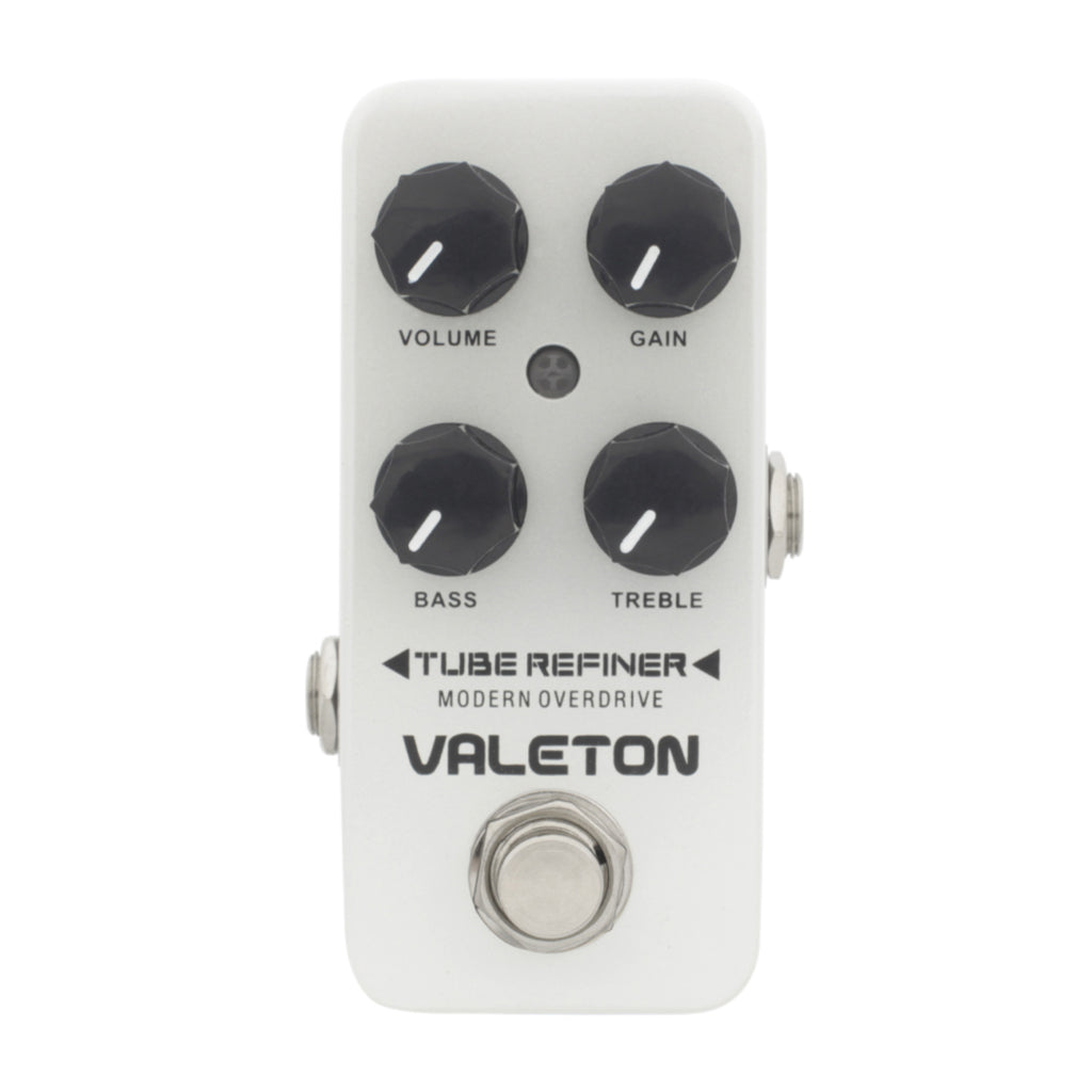 Valeton Coral Series Tube Refiner Modern Overdrive Effects Pedal