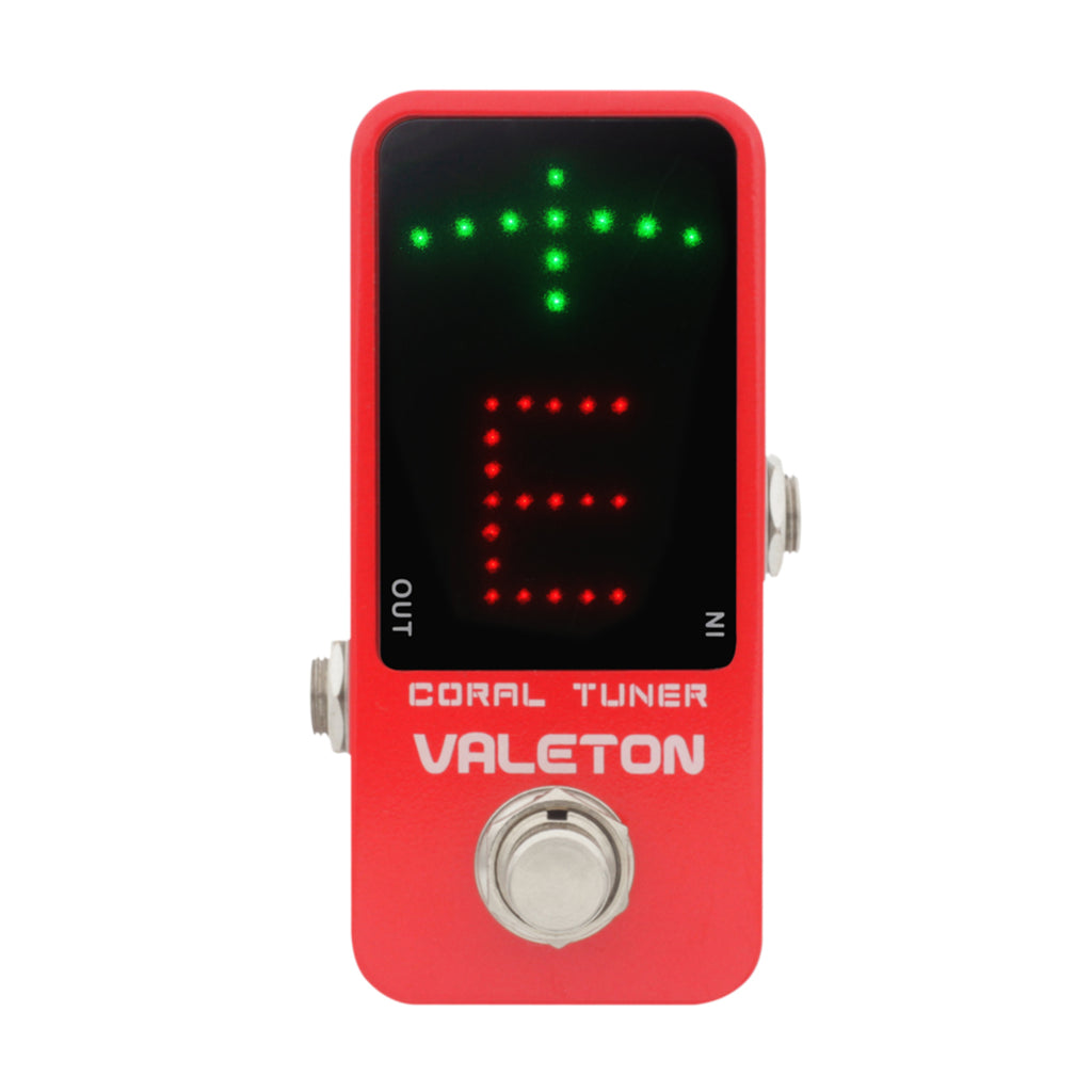 Valeton Coral Series Coral Tuner Effects Pedal