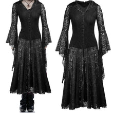Load image into Gallery viewer, Lady's medieval Gothic Dress