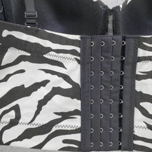 Load image into Gallery viewer, Ladies slim slim sexy zebra vest