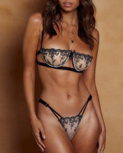 Load image into Gallery viewer, Crochet Lace Cutout Lingerie Sets