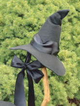 Load image into Gallery viewer, Women's costume Witch Hat