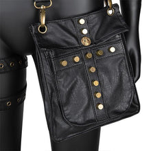 Load image into Gallery viewer, Women's Punk Motorcycle Vintage Waist Bag