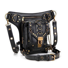 Load image into Gallery viewer, Women's Steampunk Retro Motorcycle Waist Bag