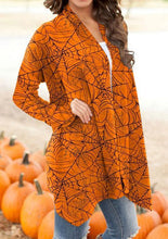 Load image into Gallery viewer, Women's Halloween Series Printed Cardigan