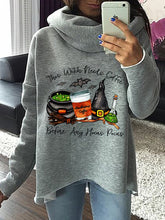 Load image into Gallery viewer, Women Funny Halloween Hocus Pocus Casual Sweatshirts
