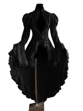 Load image into Gallery viewer, Women'S Halloween Ruffled Long Sleeve Dress