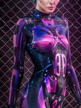 Load image into Gallery viewer, Halloween Magenta Mechanical Jumpsuit