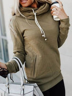 Women Casual Long Sleeve Sweatshirt With Pocket