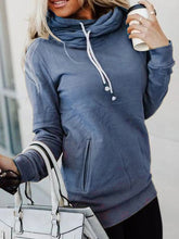 Load image into Gallery viewer, Women Casual Long Sleeve Sweatshirt With Pocket