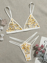 Load image into Gallery viewer, Embroidered pattern girl bra