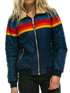 Women's Sun Sunburst Rainbow Jacket