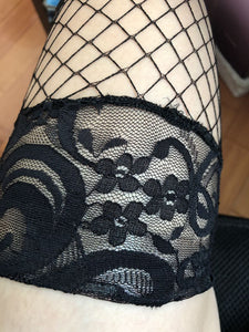 Long tube stockings lace lace anti slip over the knee sexy stockings