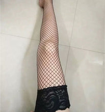 Load image into Gallery viewer, Long tube stockings lace lace anti slip over the knee sexy stockings