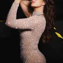 Load image into Gallery viewer, Sexy Fashion One Shoulder Side Slit Evening Dress