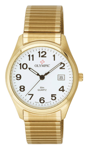 Olympic MEN'S GOLD CLASSIC - EXPANDING BAND 23081