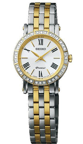 Seiko Ladies Premier two tone Watch - SWR024P1