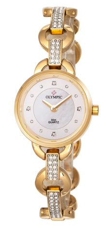 Olympic Ladies Stonex Set Dress Watch 75341