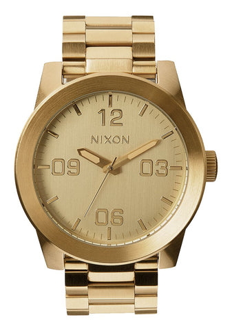 Nixon Corporal Stainless Steel Gold Watch - A346 502-00