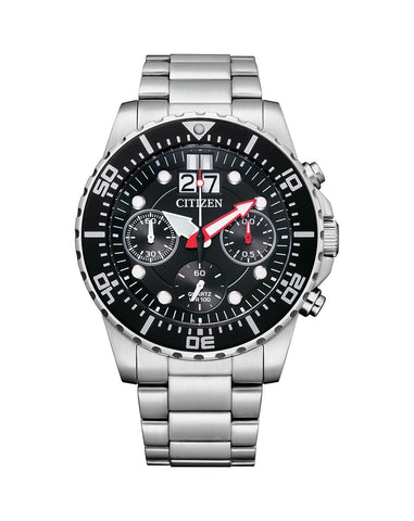 Citizen Mens Quartz Stainless Steel Bracelet Watch - AI7000-83E