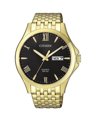 Citizen Mens Gold Plated BF2022-55H
