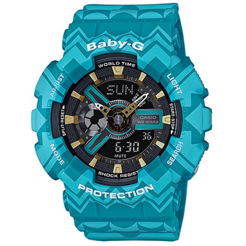Baby-G Women's Reef Clear Blue Watch - BG–3001–2DR