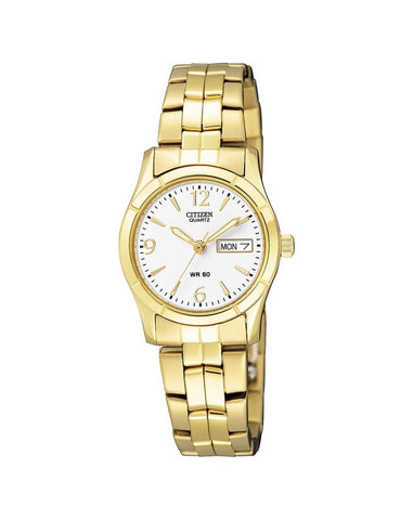 Citizen Ladies Gold Tone Watch - EQ0542-51A