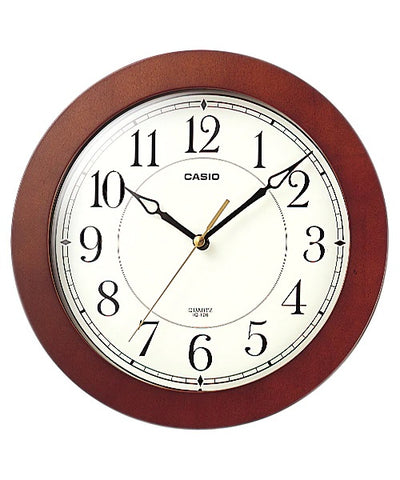 Casio Wooden Wall Clock IQ126
