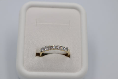 10K Gold Diamond Claw Set ring with 0.50 carat of Diamonds